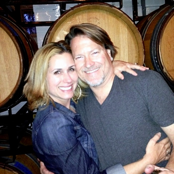 Mark and Wendy of Crawford Family Wines